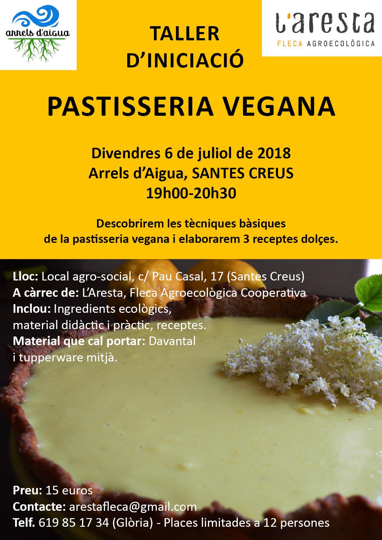 Taller de pastisseria vegana 06.08.18b