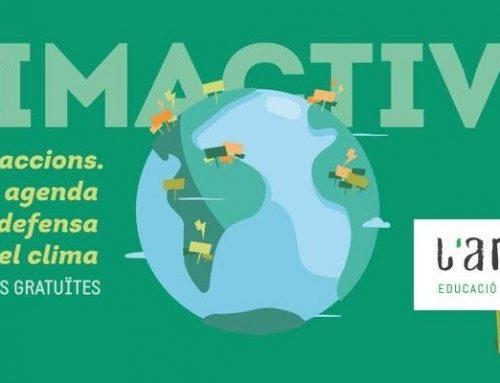 Finalitzem la nostra participació en el cicle de tallers #climactives de Tarragona Jove