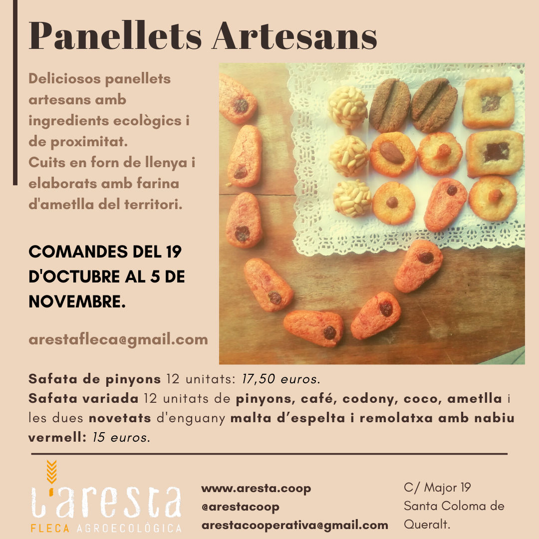 Cartell Panellets